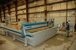 Jacquet waterjet 300x199 JACQUET Mid Atlantic Adds 4th Jet Edge Water Jet Cutting Machine