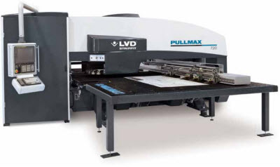 pullmax  Extending LVD's Punch  Press Product Range