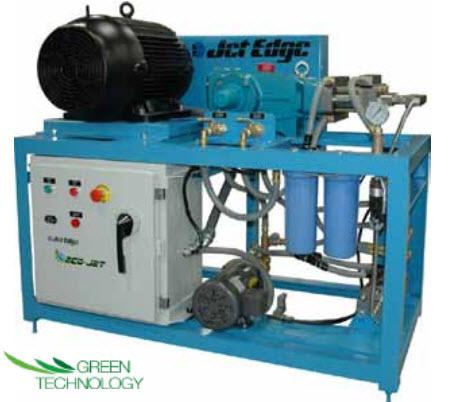 eco pump 1 ECO JET Direct Drive Waterjet Pump   30HP, 60KSI