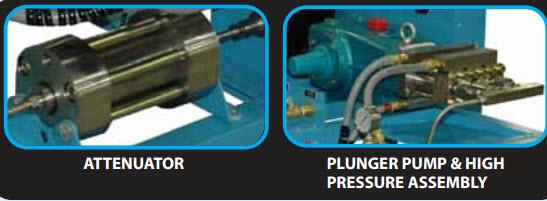 eco pump ECO JET Direct Drive Waterjet Pump   30HP, 60KSI