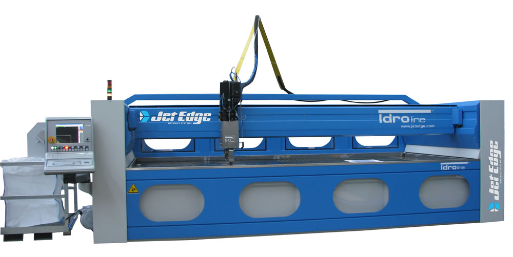 idro line water jet Jet Edge 5 Axis Water Jet Technology