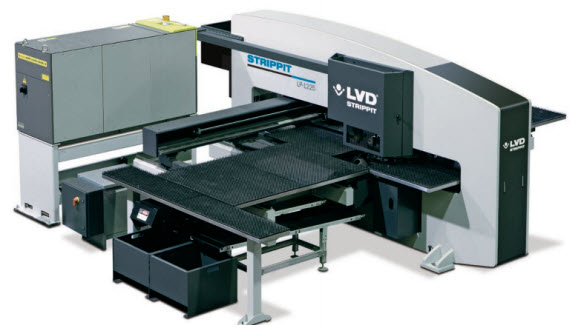 laser punch Strippit LP 1225: Punching Productivity – Laser flexibility