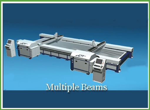 Multiple Beams - Water Jet - Caldwell-Machinery