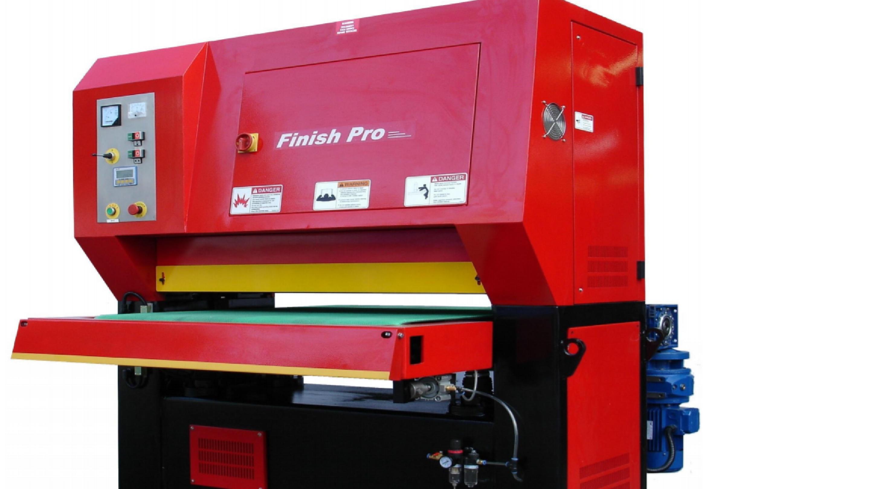 Model FP-5285 Graining - Deburring - Finishing Machine - Support Equipment - Caldwell-Machinery