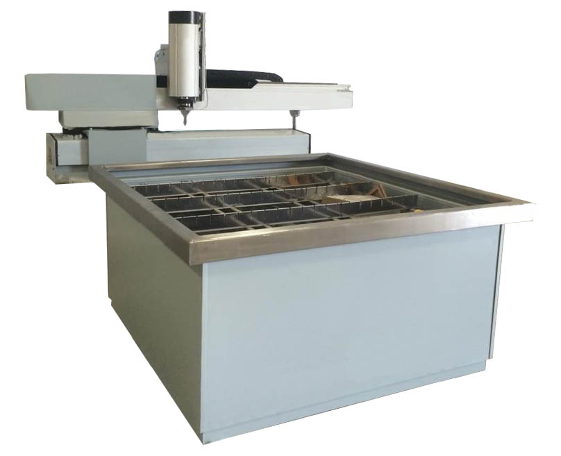 4 x 4 Water Jet Cutter- Space Saver -Affordable Quality- 3 axis - Complete System   - Water Jet - CA-Machinery