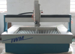 iwmwaterjet 4 x 4 waterjet cutting machine waterjet $49,750.00  New Water Jet System (4 x 4)  In Stock