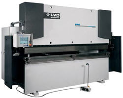 220 Ton 10 ft - PPS -Touch Screen - 4 and 5 - Axis  - Press Brake - LVD-Strippit