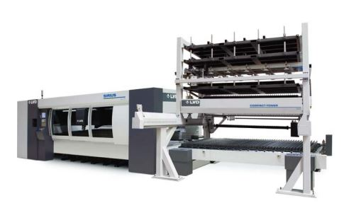 Sirius Plus - Modular Automation - Intuitive  Touch L Control - Adaptive Laser Cutting - Laser Cutting System - LVD-Strippit